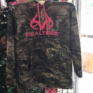 Real Tree Pull Over Hoodie